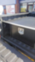 Pickup tTruck storage boxes