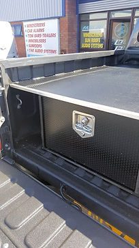 Pickup tTruck storage boxes