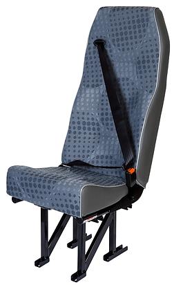 Single highback crew seat