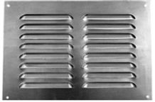 Multi-slotted louvre grill