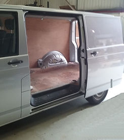 Van example before a seat conversion
