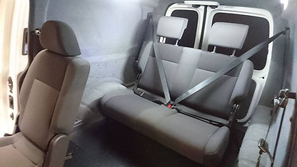 VW Caddy Maxxi seat conversion