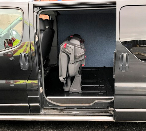 Ford Transit Custom Seats | Folded Seats For Vans | Fastfit