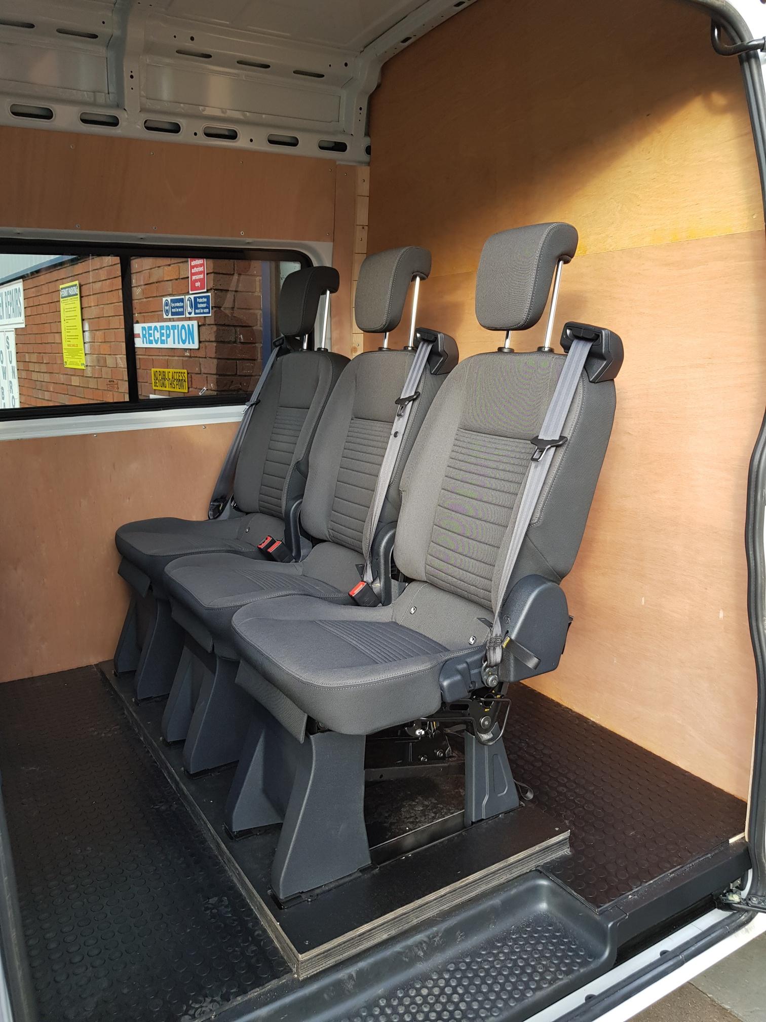 Van Seat Conversions | Seat Conversions | Fastfit |Midlands