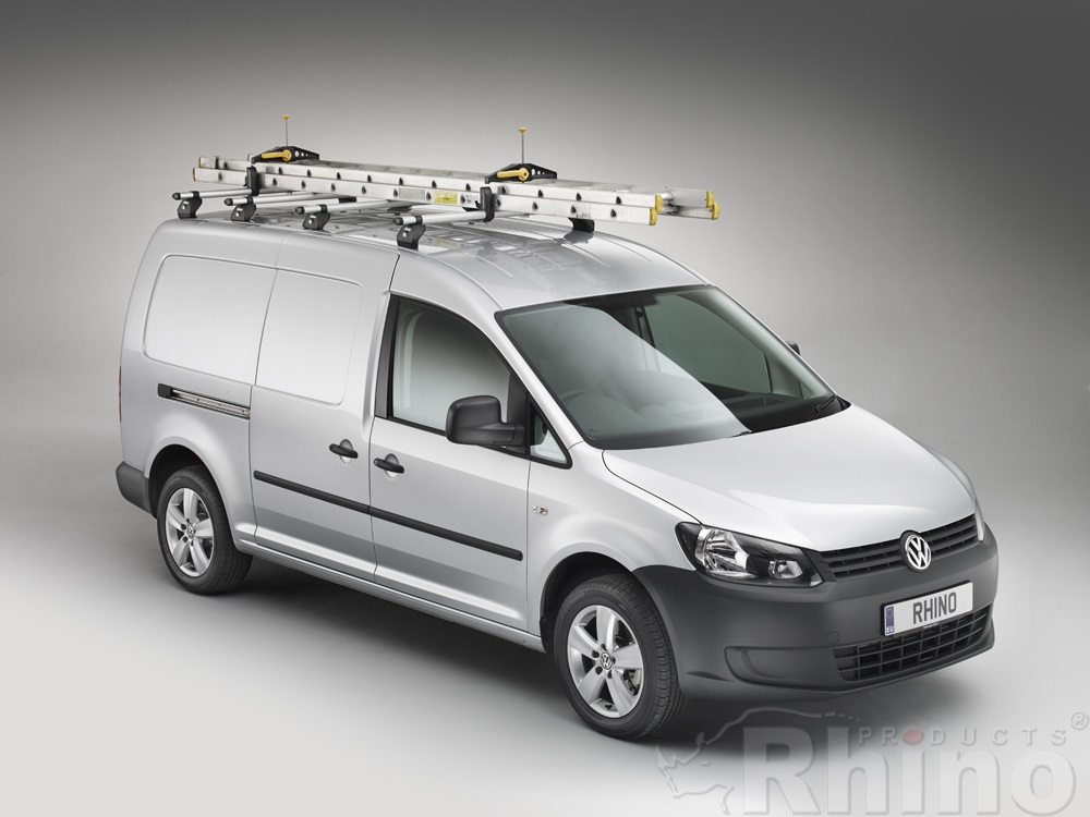VW Caddy KammBar with ladders & SafeClamp