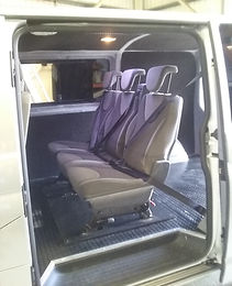 Completed seat conversion example
