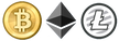 I accept Bitcoin, Ethereum, Litecoin and more.