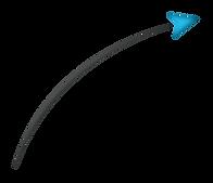 fleche turquoise fond transparent.png