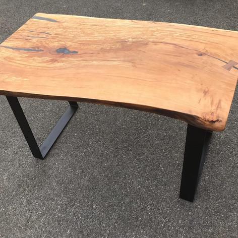Oak Stump Coffee Table