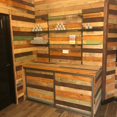 Upcycled Pallet Board Project