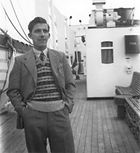 Onboard LOCH SEAFORTH, August 1949.