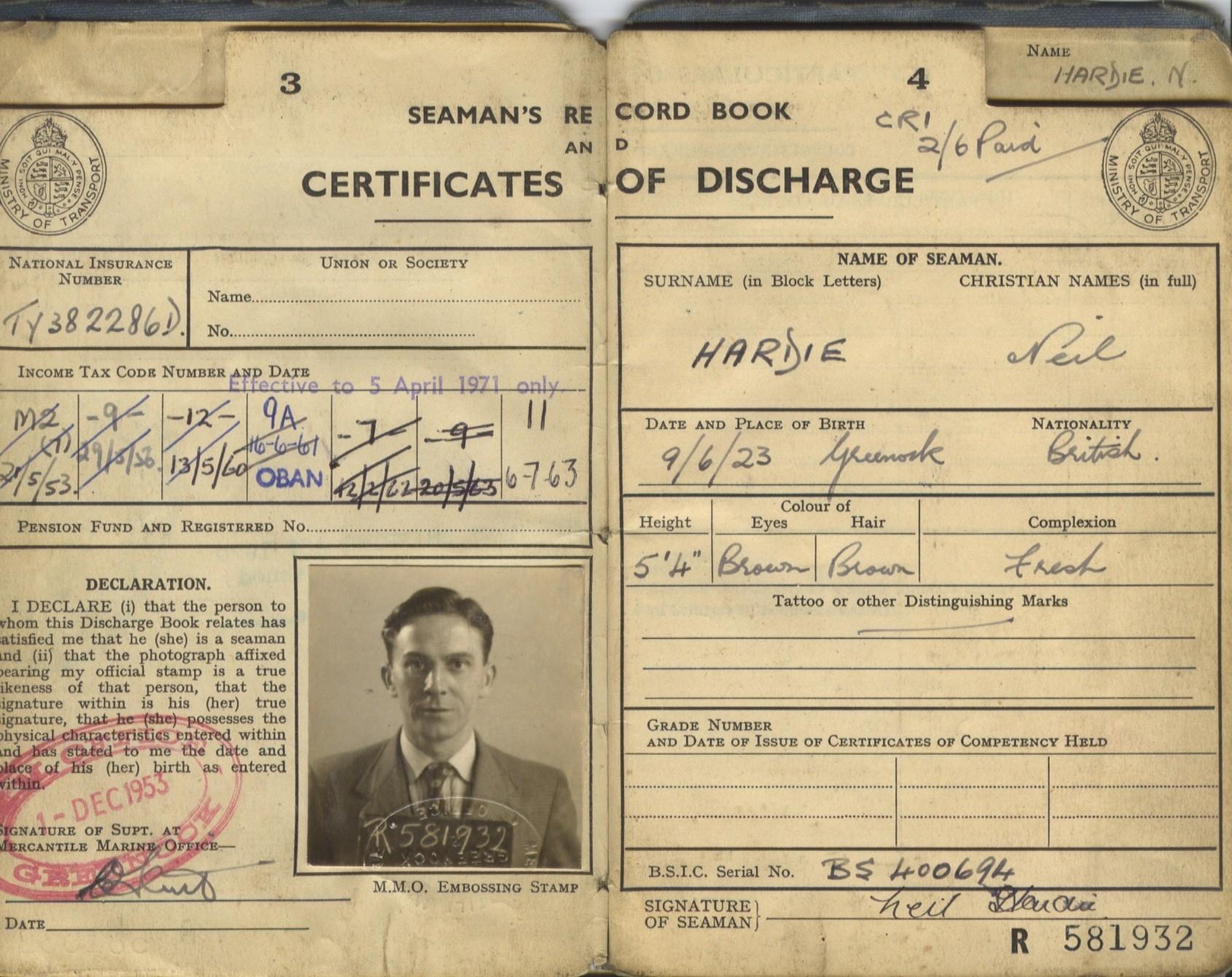 Discharge Book Details