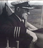 Taken in 1943 when he was Master of the LOCHEARN arriving into Oban Bay.