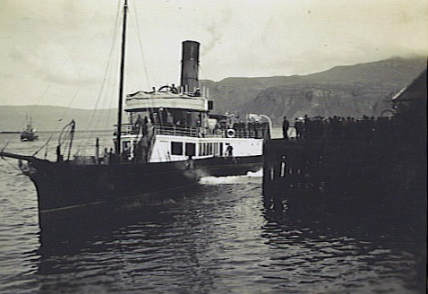Fusilier at Portree