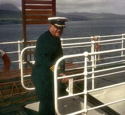 Aboard ARRAN 1971