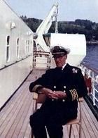 Onboard CLANSMAN, 1965.