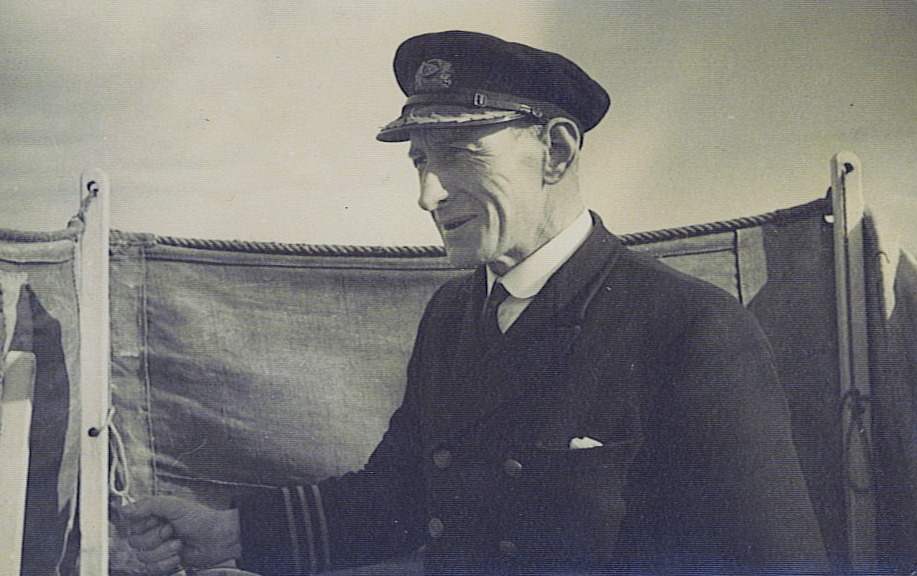 Captain L Beaton on Pioneer