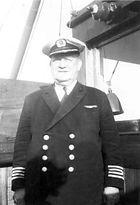 As Captain onboard Lochiel 1964