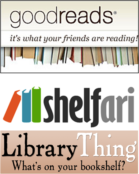 goodreads and LibraryThing (alas, shelfari is no more)