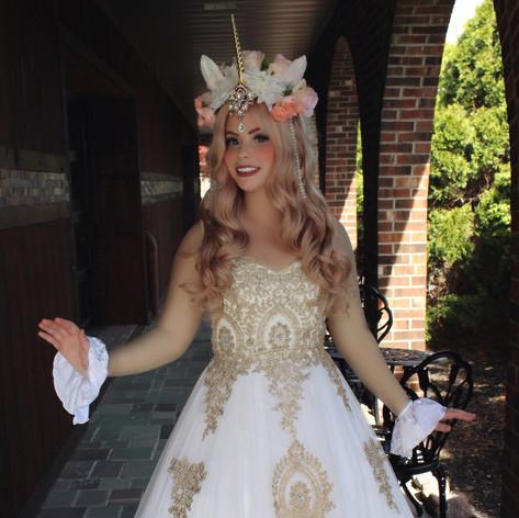 Sparkle the Sun Unicorn Princess
