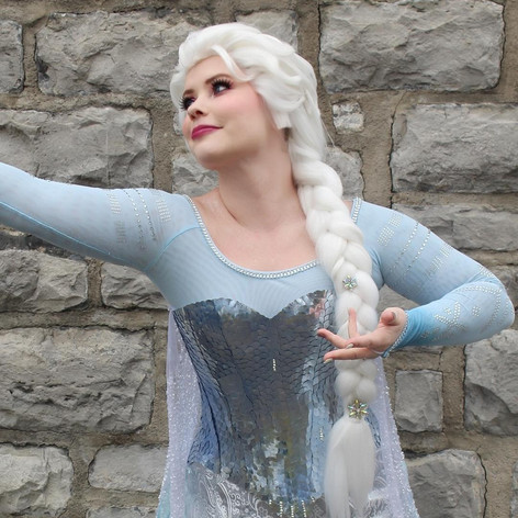 Ice Queen (ice gown)