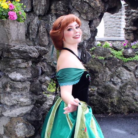 Snow Princess (coronation gown)