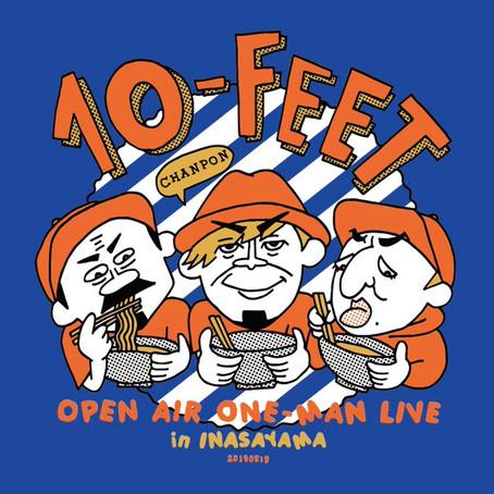 10-FEETさん稲佐山ワンマン!