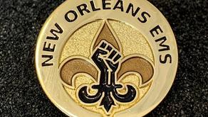 New Orleans EMS Creates Black Lives Matter Pin