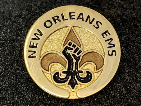New Orleans EMS Creates Black Lives Matter Pin