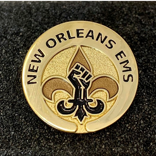 Black Lives Matter NOEMS Pin
