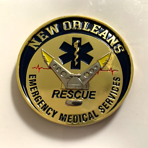 New Orleans EMS Rescue Coin