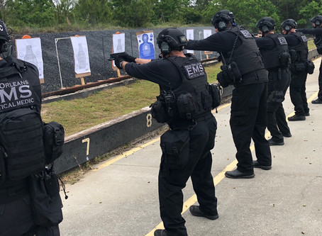 NOEMS Medics attend Tactical Medical Operator Course