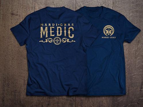 Medics of Mardi Gras Polyester T Shirt