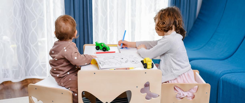 este MULTIFUNCTIONAL pentru copii intre 1 si 9 ani