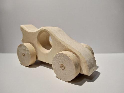 Jucarie de lemn masina natur