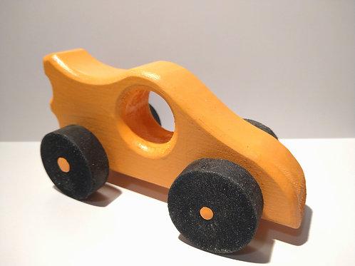 Jucarie de lemn masina colorata