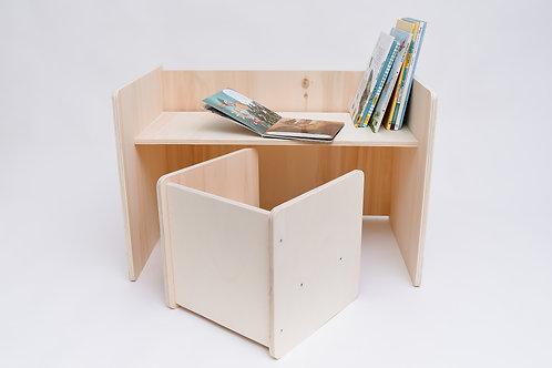 Set multifunctional masa si un scaun simple