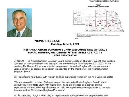 Mr. Dennis Fitzke Appointed to NGSB