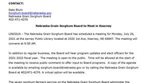NGSB to meet in July
