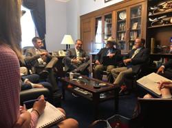 With Congressman Don Bacon