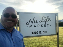 Executive Director, nate Blum visits industry partner, NU Life Market
