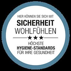 Hygiene-Siegel der Gesundheitscoaches