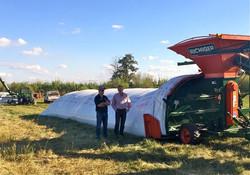 Fieldpak Grain Bag and Richiger R9