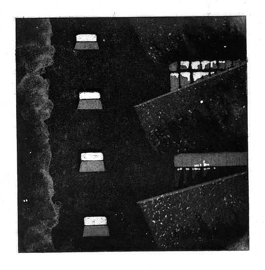 Barbican Balconies @ Night