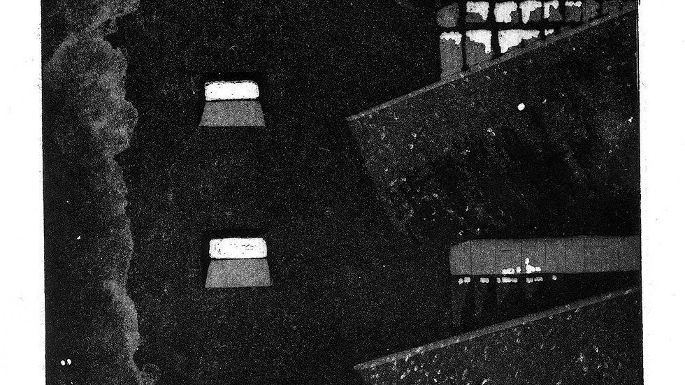 Barbican Balconies @ Night