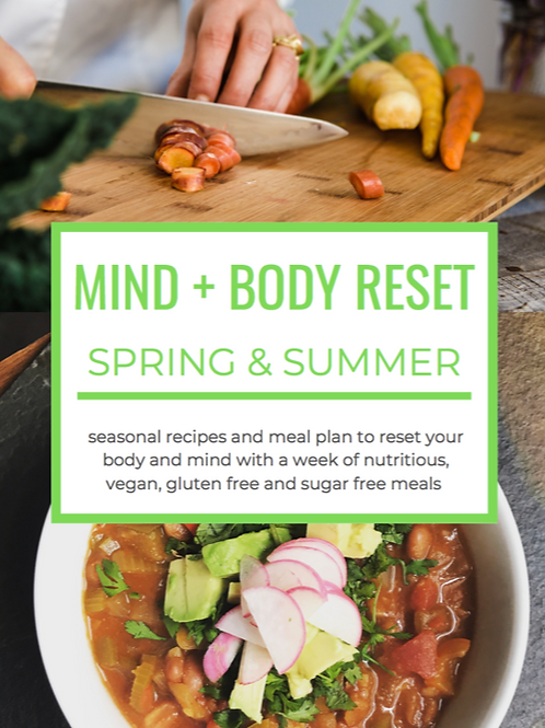 Spring & Summer Reset Meal Plan