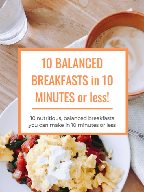 10 Breakfasts in 10 Minutes