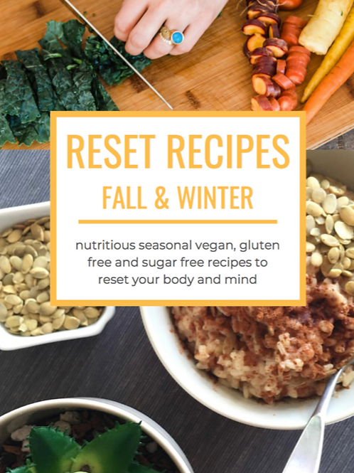 Fall & Winter Reset Recipes