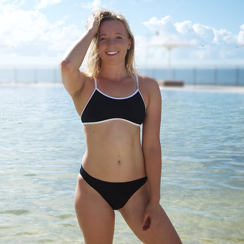 Midnight Bikini - choice of surfer or classic bottoms