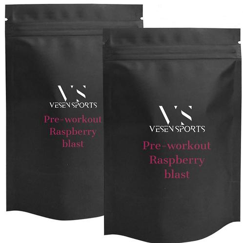 Pre-Workout Raspberry Blast Sample